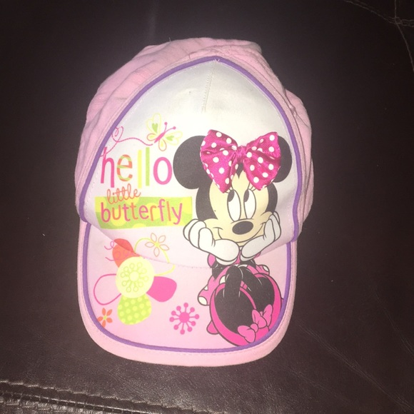 Disney Other - Toddler girls Minnie Mouse hat